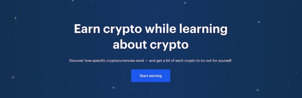 Earn free crypto from Coinbase Earn such as OXT, XTZ, DAI, EOS, XLM, and BAT